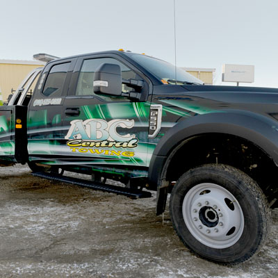 New ABC Towing truck